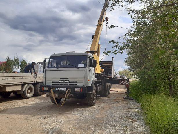 Услуга автокрана 25 тонн