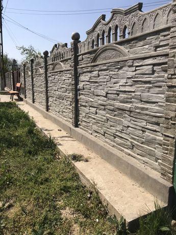 Gard din prefabricate din beton