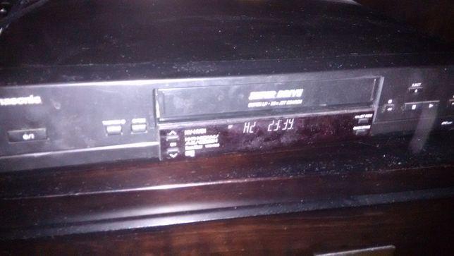 video recorder (VHS) Panasonic Hi-fi stereo 6 capete