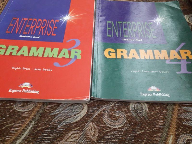 Учебници по английска граматика Enterprise Gramar 3 и 4 гр. Добрич - image 1