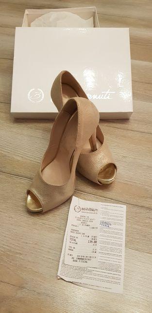 Pantofi decupati dama