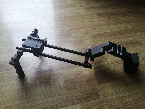 RIG pentru DSLR - manere lemn
