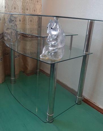 Продам:   Стеклянная   подставка   под   телевизор