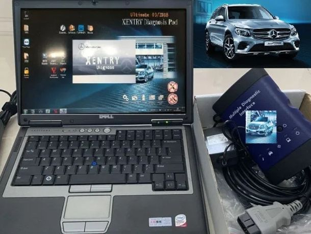 Tester Mercedes MB STAR LIGHT MDI Connect + Laptop Full Activat RO