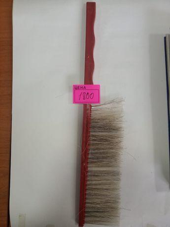 Щётка сметка с натуральной щетины