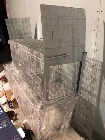 Capcana pisici,dihori,etc cu doua intrari/ 100 cm Conditie: Produs NOU