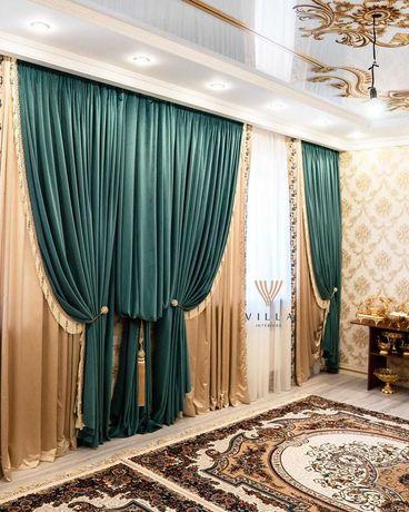 Салон штор, пошив штор на заказ, выезд дизайнера бесплатно