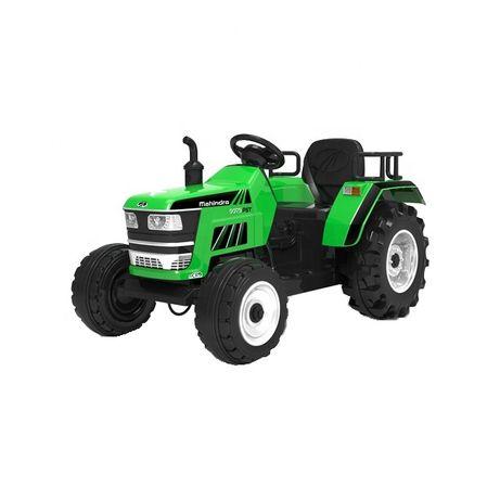 Tractoras electric Kinderauto HL-2788 cu telecomanda STANDARD #Verde