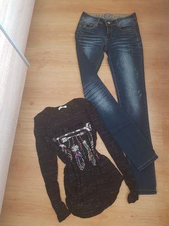 Дънки и блуза нови