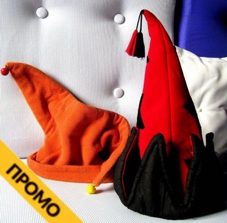 Маска и шапки - венецианска Arlecchino, клоунска, пиратска, Barbi