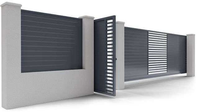 Porti si Garduri din Aluminiu / Confectii din Aluminiu