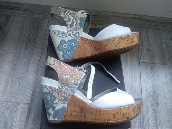 Летни обувки Кларкс кожа 40 номер