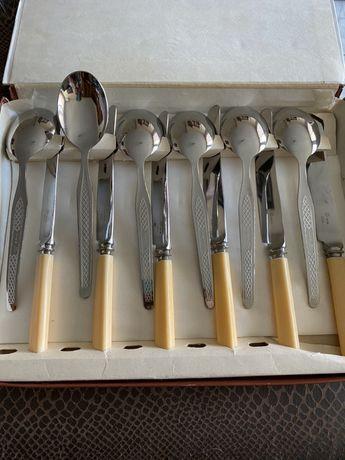 Прибори - 6 броя нож и лъжица