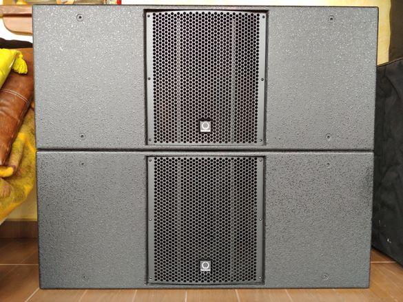 """Пасивен субуфер (басова колона) TURBOSOUND TCS212B 2 х 12"""" 800W RMS"""