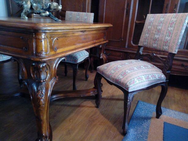 Masa lemn masiv stil Rococo