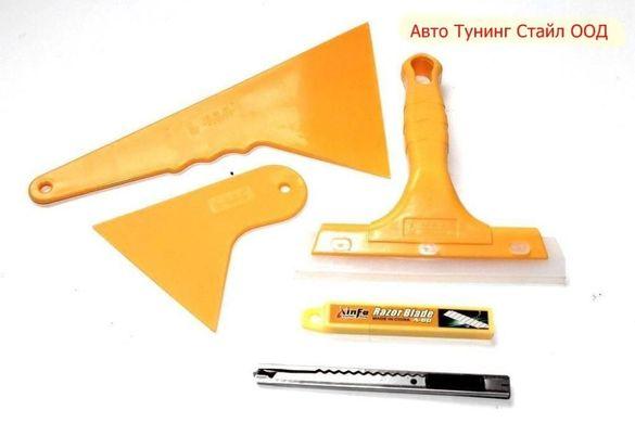 Комплект за поставяне на фолио 4 части+10 резервни остриета за ножчета