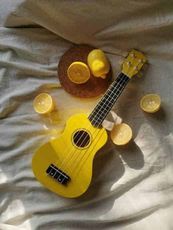 Цветная укулеле гавайская гитара uk-100! Г. Каскелен