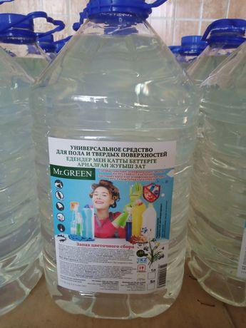 Дизинфицирущие Средство для мытья полов и стен 5 литров.