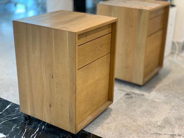 Corp mobil birou (rollbox office) cu 3 sertare | Produse Unicat | Lemn
