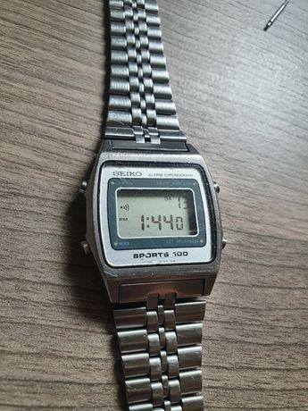 Ceas LCD/digital Seiko brățară originală