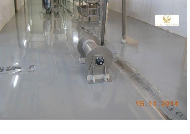 Наливные полиуретановые промышленные полы