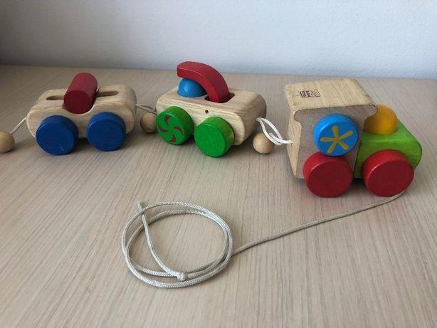 trenulet lemn, Plan Toys
