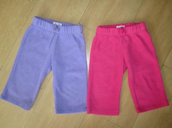 Две поларени панталончета Place 9-12 месеца - общо за 12лв.