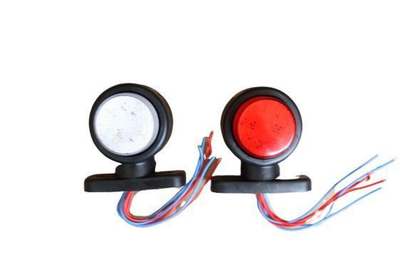 Комплект 2бр LED габарити , токоси 12/24V с 3 светлини за бус,тир и др