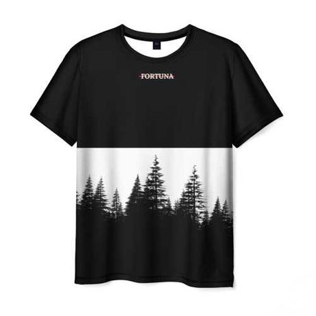 """Молодёжная футболка,с нового бренда """"Fortuna_Shop""""."""