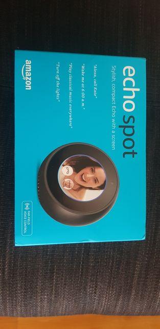 Amazon Echo Spot negru hub