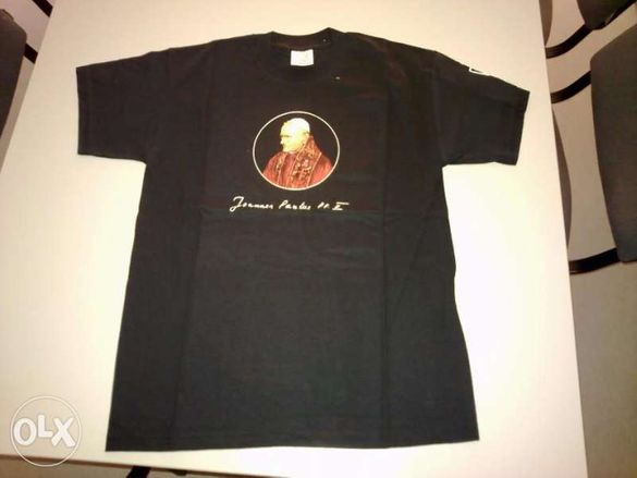 1500 нови тениски с Папа Йоан Павел I I - 2лв. / 1бр.
