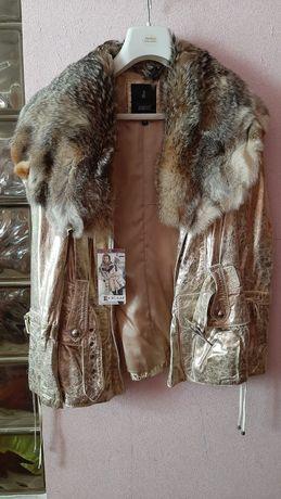 Эксклюзивная Куртка из натуральной кожи