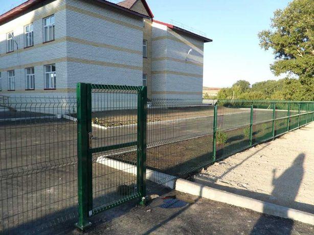 Ограждения 3D в Усть-Каменогорске. Дешевле забора из профлиста на 30%!