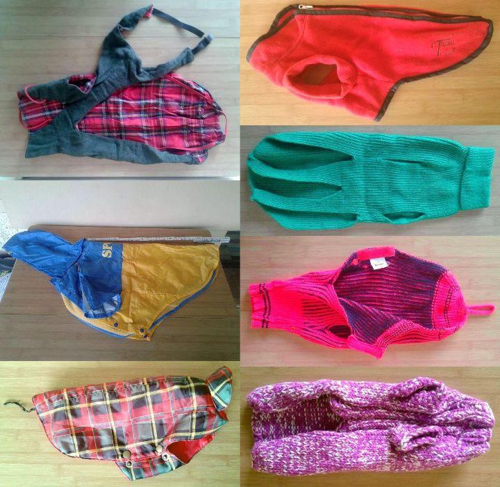 Pardesiu pulover haine hainuta pentru caini marimea 30 - 50 cm Santana - imagine 1