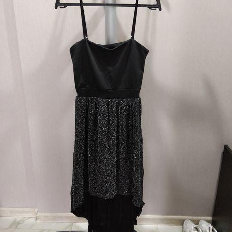 Платье, блуза, сапоги низкие