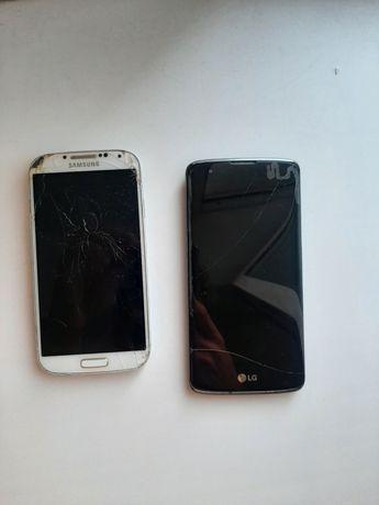 Samsung galaxy s4, LG k8