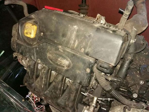 Motor bmw TD4 land rover freelander si piese injectoare