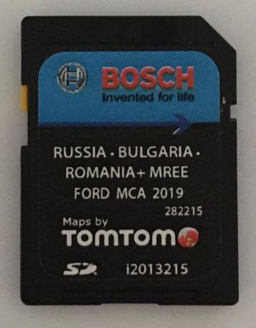 Ford MCA 2019 V9 SD Card Russia Bulgaria Romania MREE България Сд Карт
