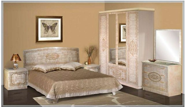 Спальный гарнитур Флоренция 4дв Мебель прямо со склада