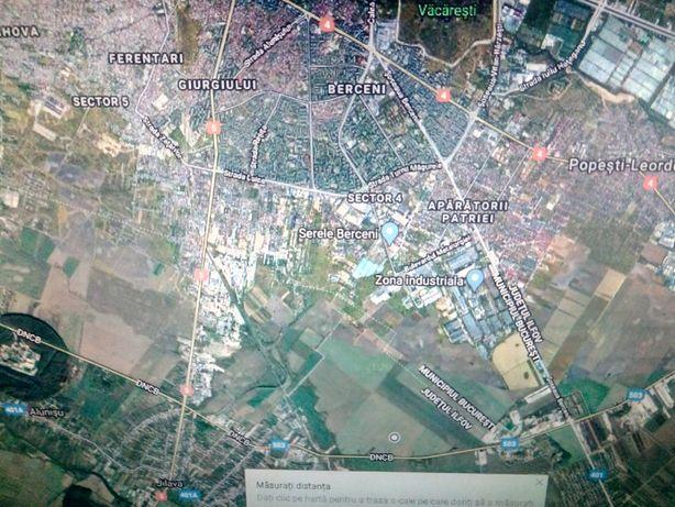 teren jilava , zona centura sud București, tarla 24 parcela 83