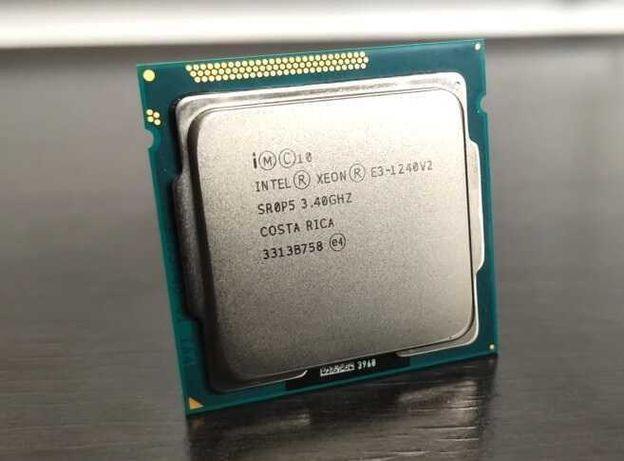 Core i7 3770 [Xeon E3-1240 v2 3,4-3,8GHz] socket 1155 (4ядра\8потоков)