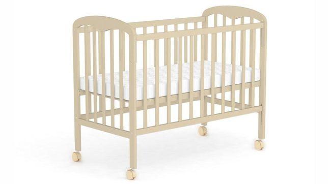 Кровать детская Фея 323 колеса- качалка.