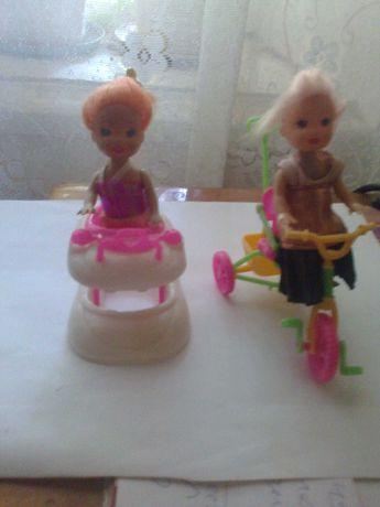Продам  игрушки детских кукол  1500 тенге.