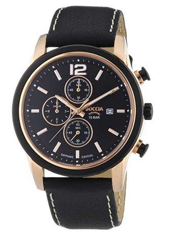 Ceas - BOCCIA Gents Chronograph XL Leather 3759–02 Quartz