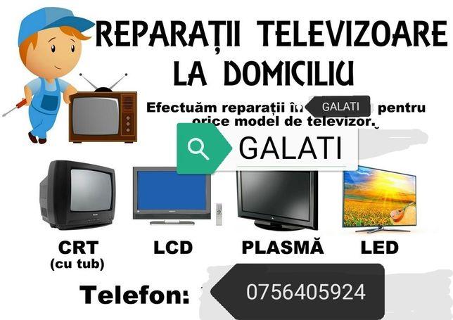 Reparatii Televizoare Galati. Tv-LED-LCD-CRT. La Domiciliu In Galati.