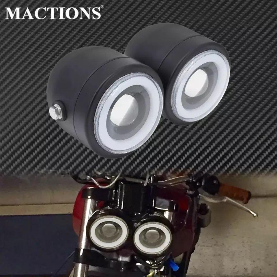 LED фар за мотор мотоциклет универсален