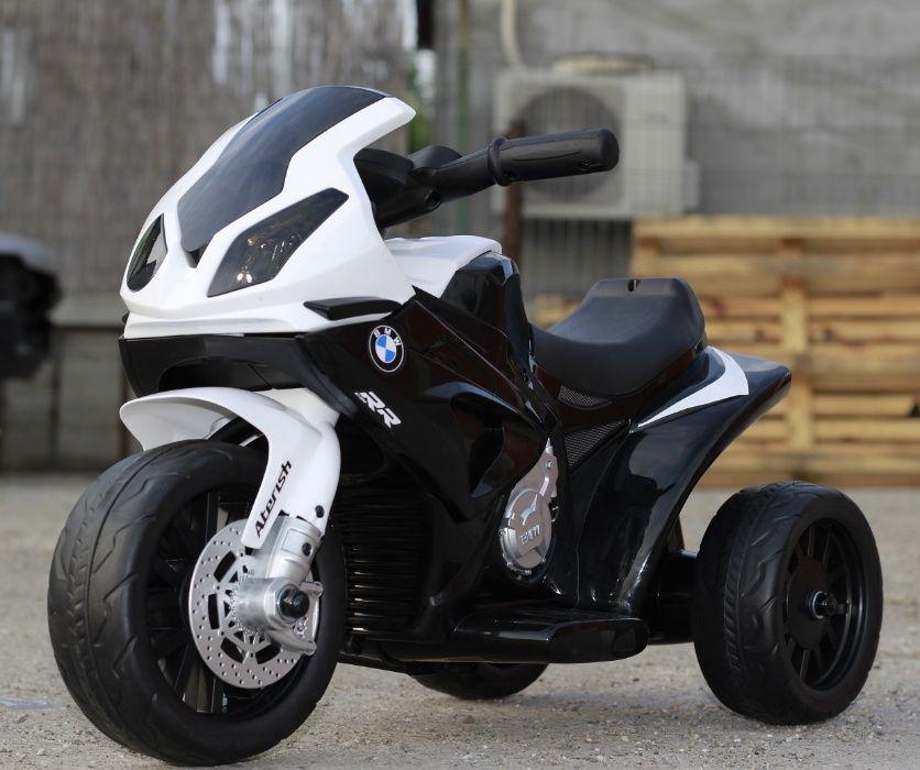 Mini Motocicleta electrica BMW S1000RR 1x 12W 6V 4Ah #Negru Braila - imagine 1