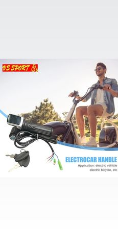 Масур с контактен ключ за електрически скутери и триколки