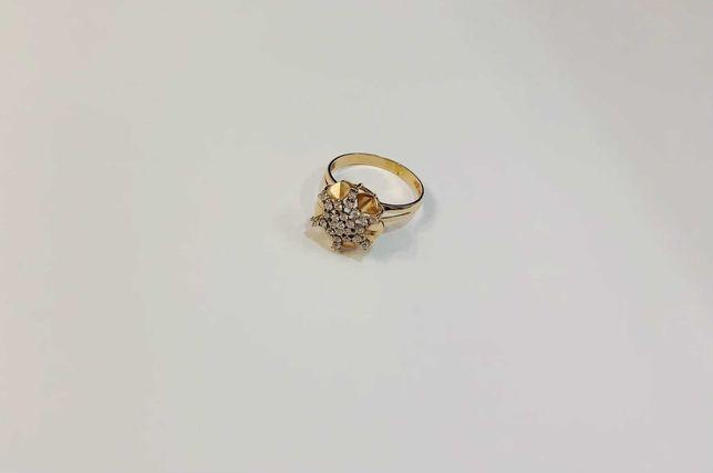 2.32875 Красное золото Золотое кольцо 585*