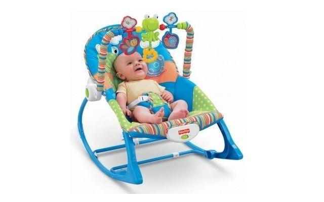 Шезлонг детский (кресло качалка) i-baby